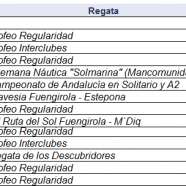 CALENDARIO DE REGATAS 2012 CNF