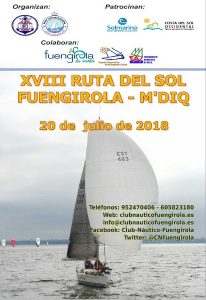 Cartel regata escalado