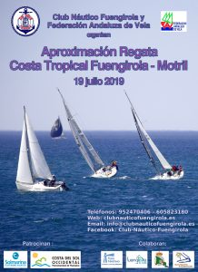 Cartel de la Regata Aproximación Costa Tropical